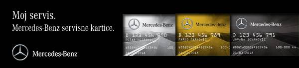 Servisne kartice – novi premijum Mercedes-Benz proizvod
