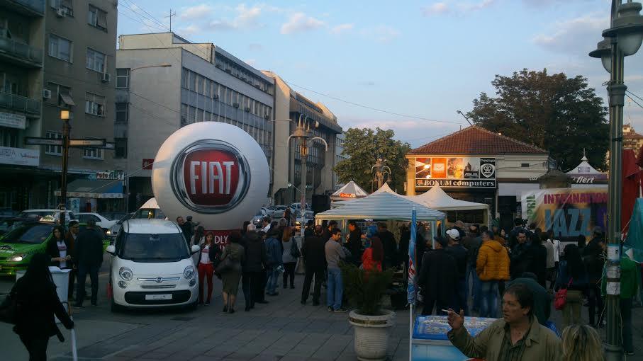 Fiat 500L prijatelj predstojećeg Nišville Jazz Festivala