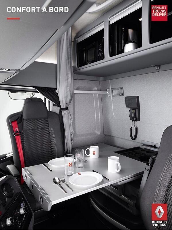 Jo vi e prostora u kabinama maxispace modela renault for Renault gamme t interieur