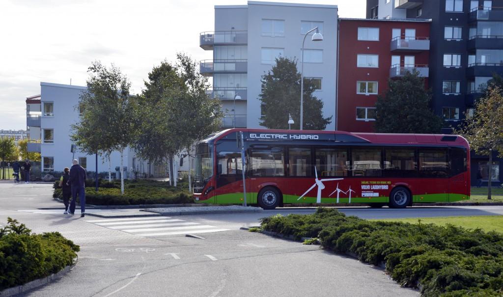 Volvo 7900 Electric Hybrid Stockholm 2014 12