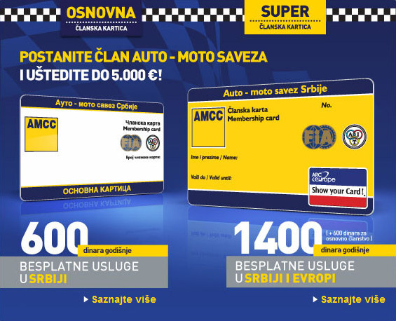 Auto Moto Savez Srbije Auto Karta Superjoden