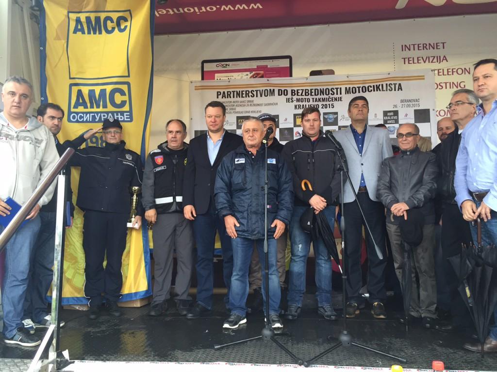 Fotografija - Otvaranje takmičenja Partnerstvom do bezbednosti motociklista