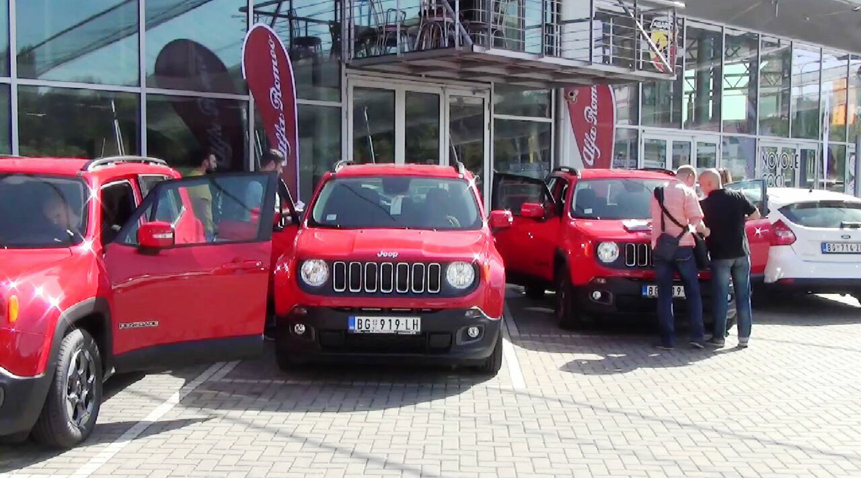 AK Kole isporučila Philip Morisu devet vozila Jeep Renegade