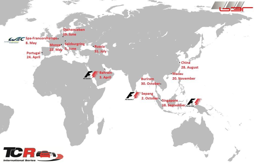 mapa šampionat