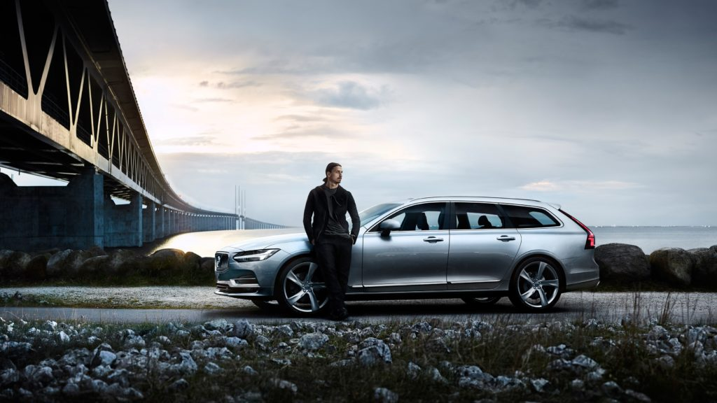 Zlatan Ibrahimović says goodbye to Swedish national football team in new Volvo V90 film