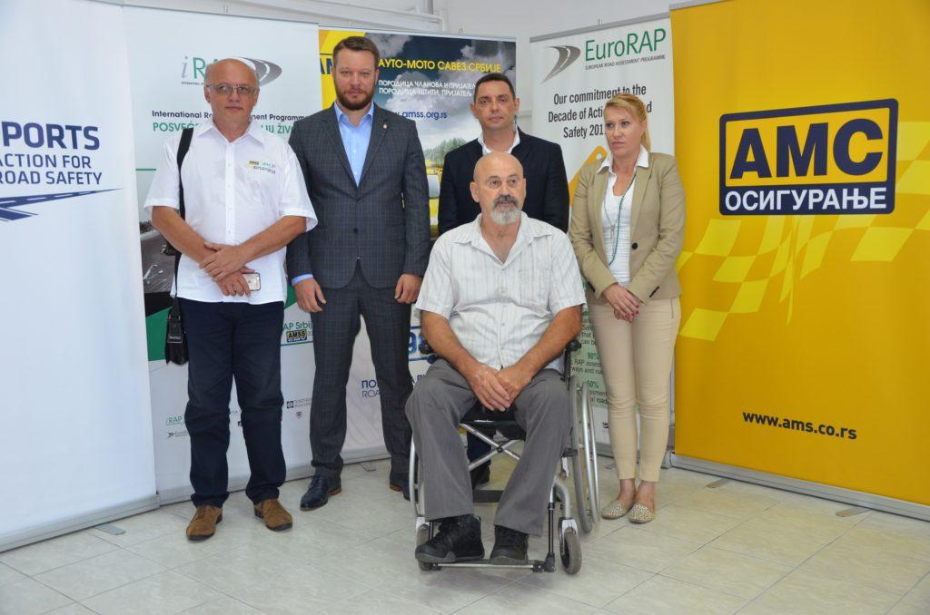 Milan Božić, Mirko Butulija, Aleksandar Vulin, Jasmina Milošević i Mihailo Pajević