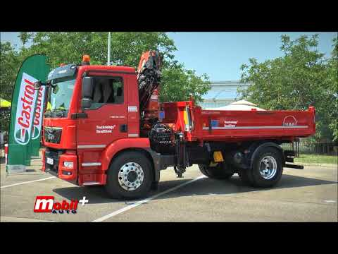 MOBIL AUTO TV – MAN Trucknology Road Show 2018 u Srbiji