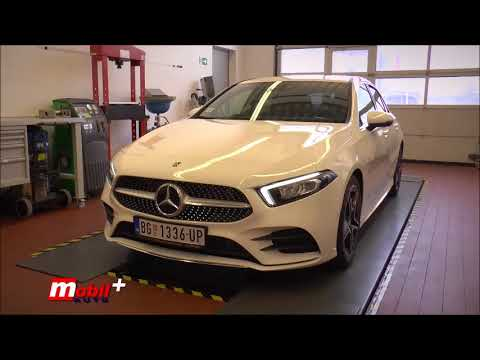 MOBIL AUTO TV – Nova Mercedes-Benz A-Klasa – Trening za novinare
