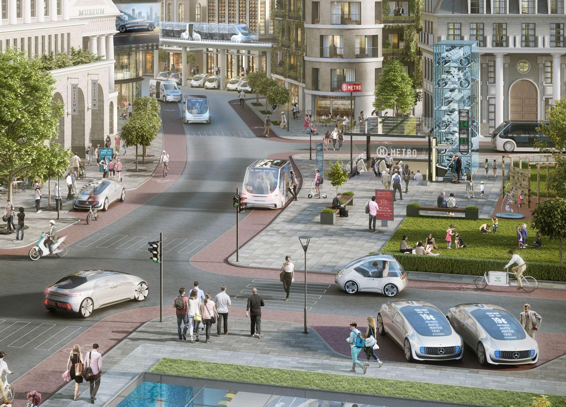 Autonomna vožnja u gradovima: Bosch i Daimler odabrali Nvidia platformu za veštačku inteligenciju