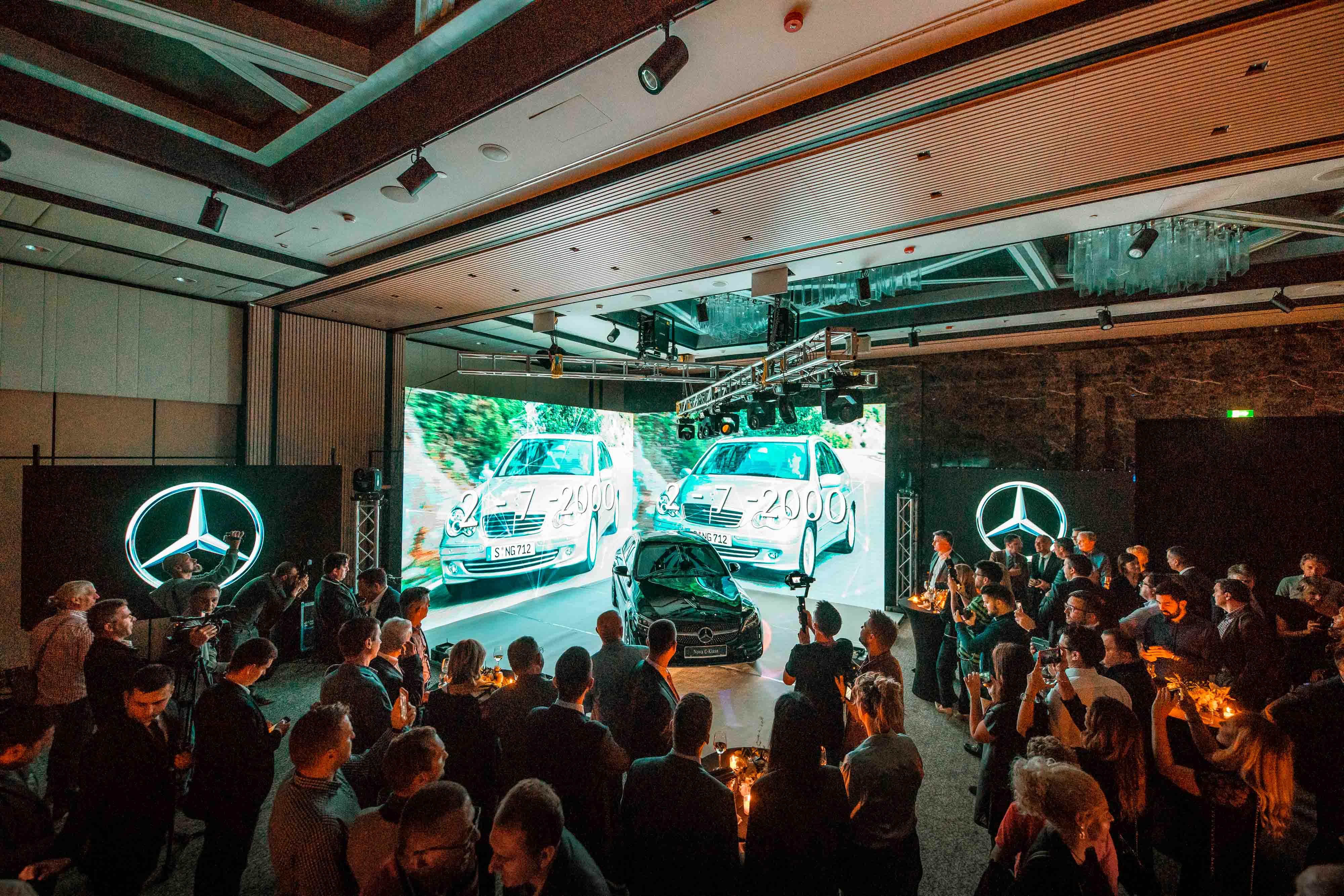 MOBIL AUTO TV – Mercedes-Benz C-Klase –  Promocija u Hiltonu