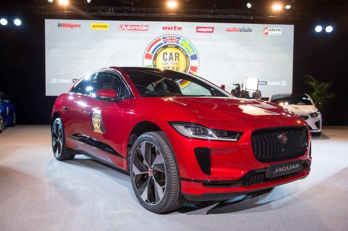 MOBIL AUTO TV – GIMS 2019 -AUTO godine u Evropi je  električni Jaguar I-Pace!
