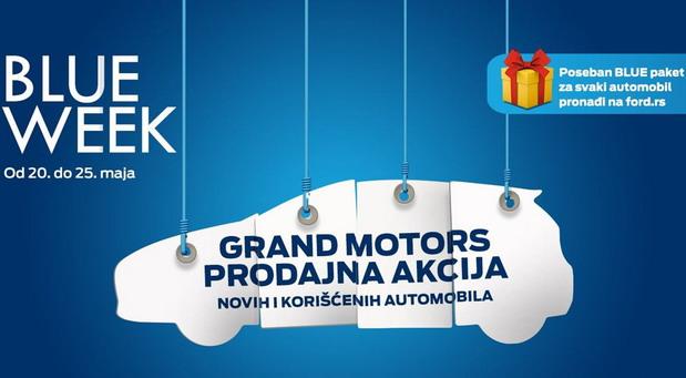 MOBIL AUTO TV – BLUE WEEK – Fordova vozila sa nižim cenama i poklon paketom