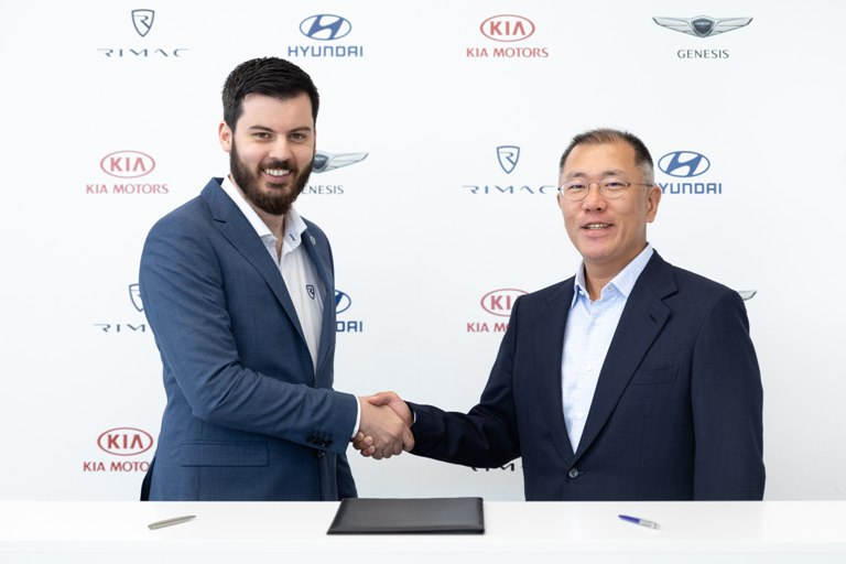 Kia i Hyundai će sa Rimcem razvijati električna vozila visokih performansi