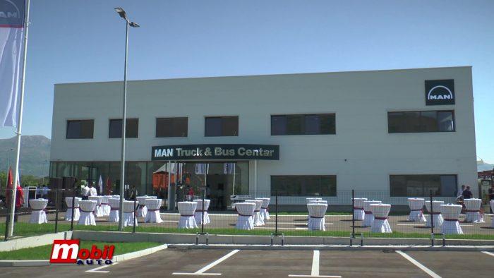 MOBIL AUTO TV –  Nemački MAN otvorio Truck & Bus Centar u Danilovgradu