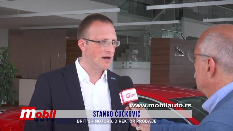 MOBIL AUTO TV -JAGUAR XE U SALONU BRITISH MOTORS-a U BEOGRADU