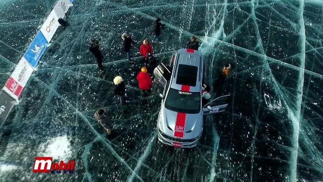 MOBIL AUTO TV – JEEP GRAND CHEROKEE TRACKHAWK – TEST VOŽNJA NA LEDU
