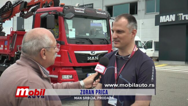 MOBIL AUTO TV – U MAN Truck&Bus centru u Krnješevcima održan Trucknology® RoadShow 2019.