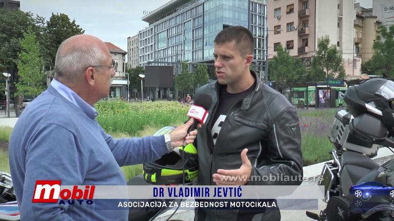 MOBIL AUTO TV – BEZBEDNOST MOTOCIKLISTA U SAOBRAĆAJU