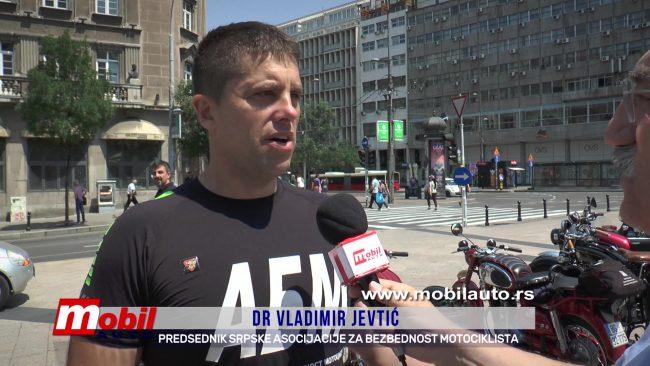 MOBIL AUTO TV – BEZBEDNOST U SAOBRAĆAJU I FIVA – NEDELJA MOTOCIKLISTA