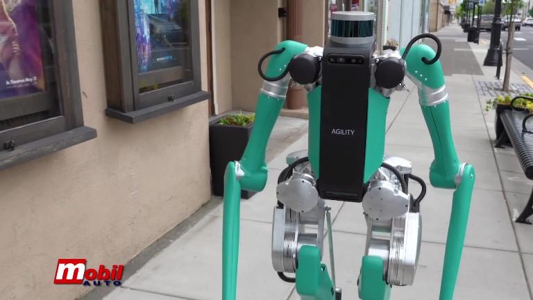 MOBIL AUTO TV ROBOT ZA DOSTAVU DIGIT I NOVE TEHNOLOGIJE E-PUNJENJA I PARKIRANJA