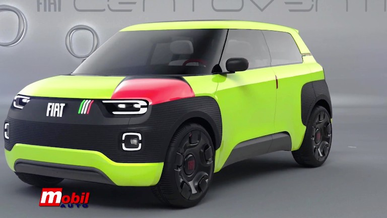 MOBIL AUTO TV – Fiat Concept Centoventi i Hymer kamper – kuća na točkovima