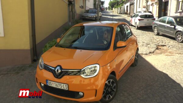 MOBIL AUTO TV – RENAULT TWINGO ELECTRIC