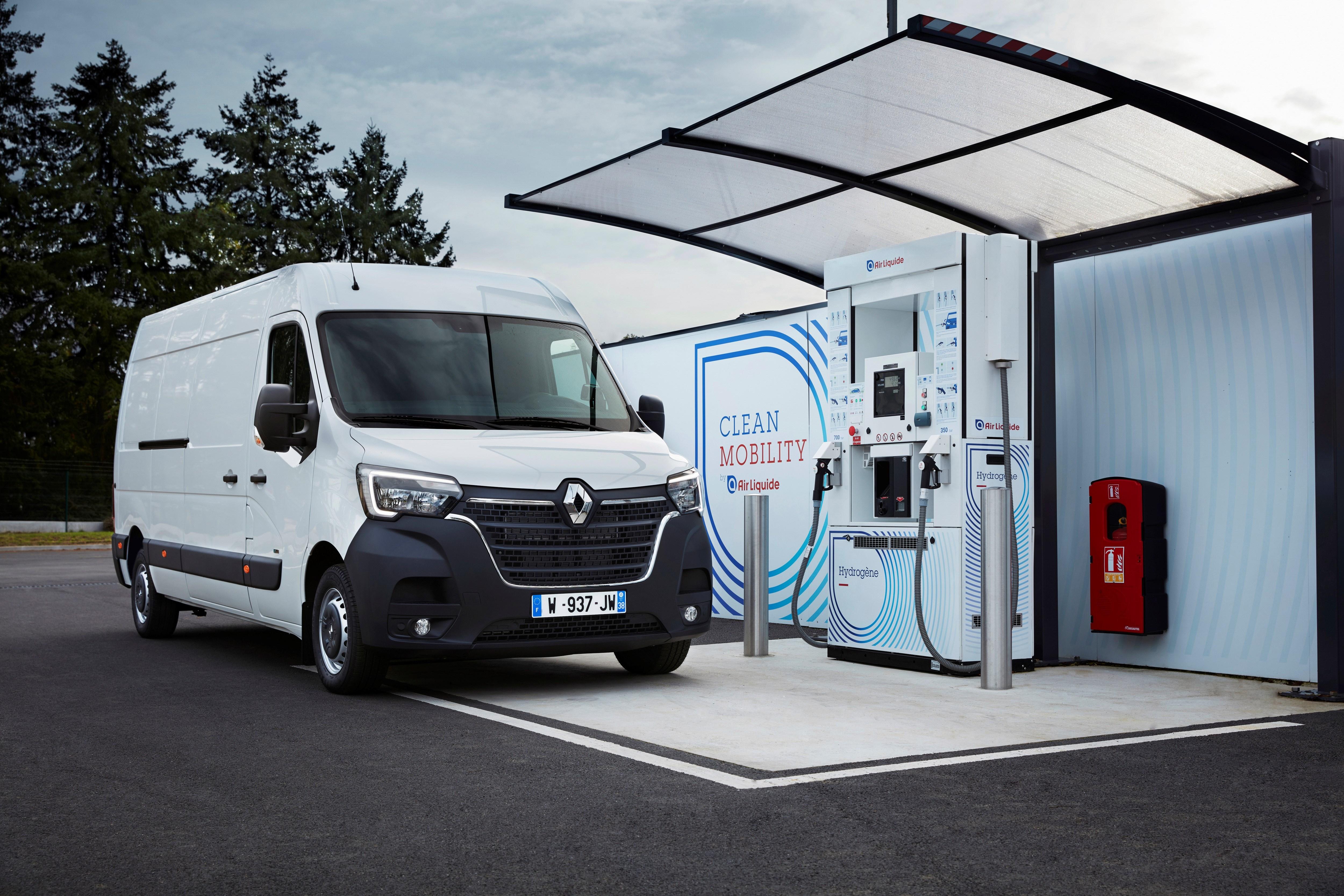 Renault grupa uvodi pogon na vodonične gorivne ćelije u svojim lakim komercijalnim vozilima