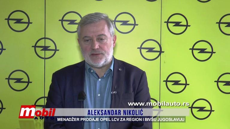 MOBIL AUTO TV – Opel Srbija – Predstavljanje podmladjene game lakih komercijalnih vozila