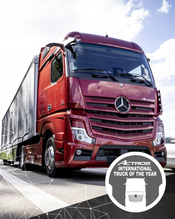 "Novi Actros – Nosilac prestižne titule ""Truck of the Year 2020"""