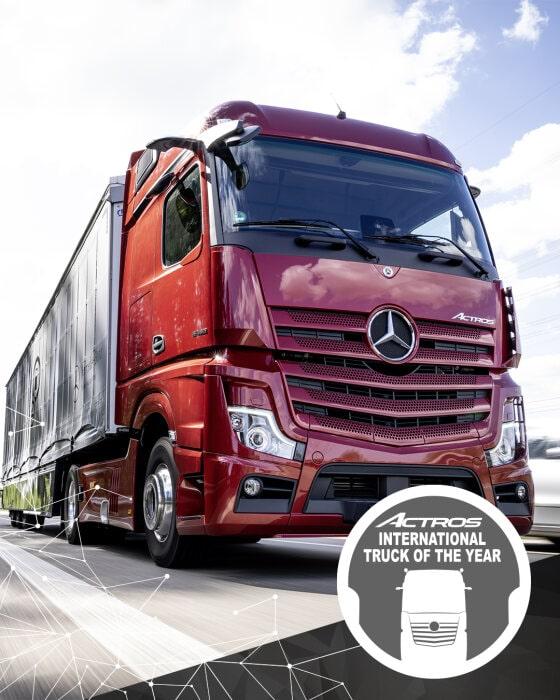 "Novi Actros – Nosilac prestižne titule ""Truck of the Year 2020"""