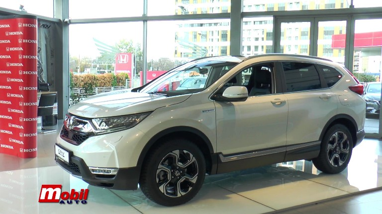 MOBIL AUTO TV – HONDA Srbija predstavila svoj prvi hibridni model CR-V i najavila decembarsku akciju
