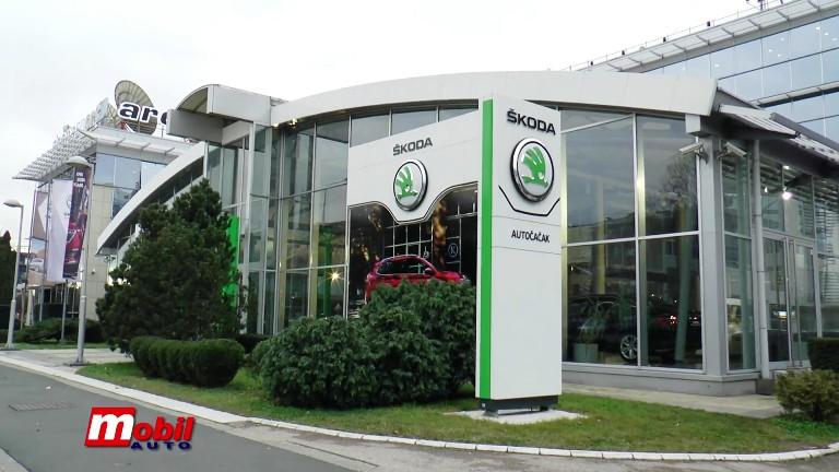 MOBIL AUTO TV – Auto Čačak – Tržište Škoda automobila