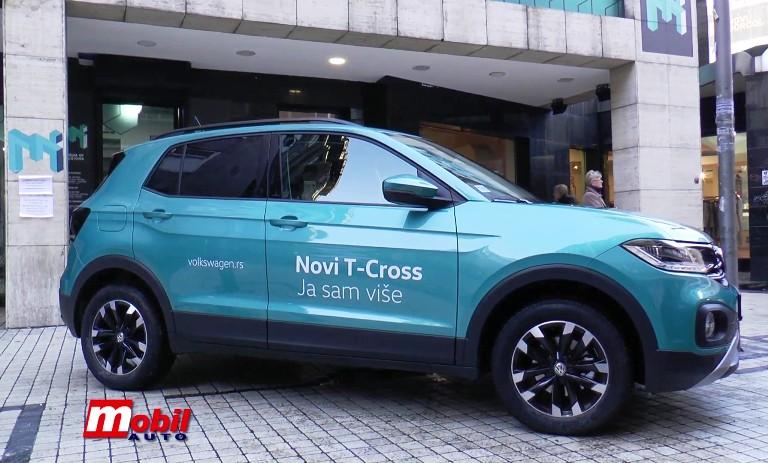 MOBIL AUTO TV – Stigao je i kod nas! Novi Volkswagen T-Cross!