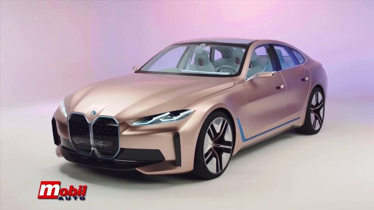 MOBIL AUTO TV – BMW Concept i4