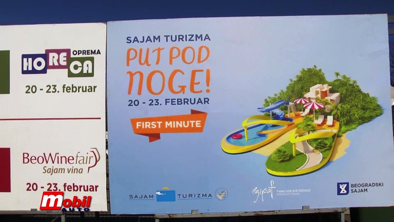 MOBIL AUTO TV – 42. Međunarodni Sajam turizma – TOB i TOS