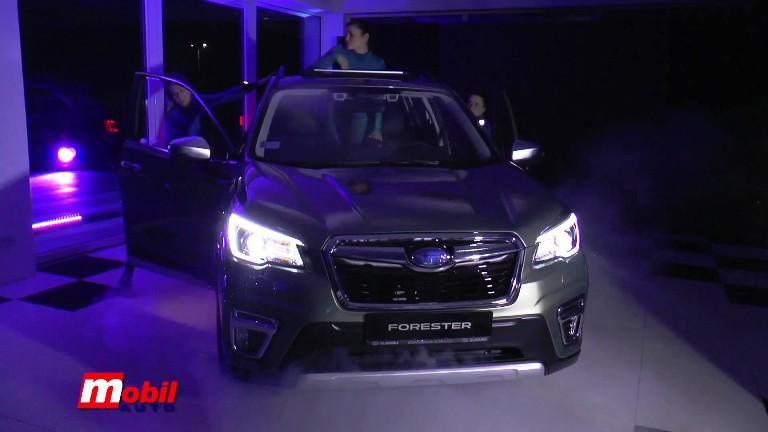 MOBIL AUTO TV – NOVI SUBARU FORESTER E-BOXER STIGAO NA TRŽIŠTE SRBIJE