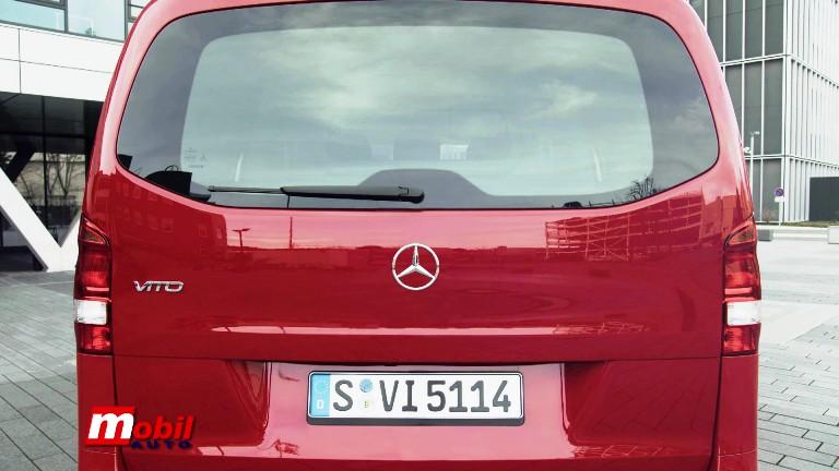 MOBIL AUTO TV – Mercedes Benz predstavio redizajnirane Vito i Evito modele