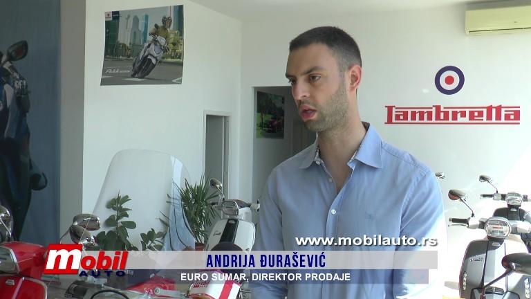 MOBIL AUTO TV – EURO SUMAR – Suzuki Lambretta