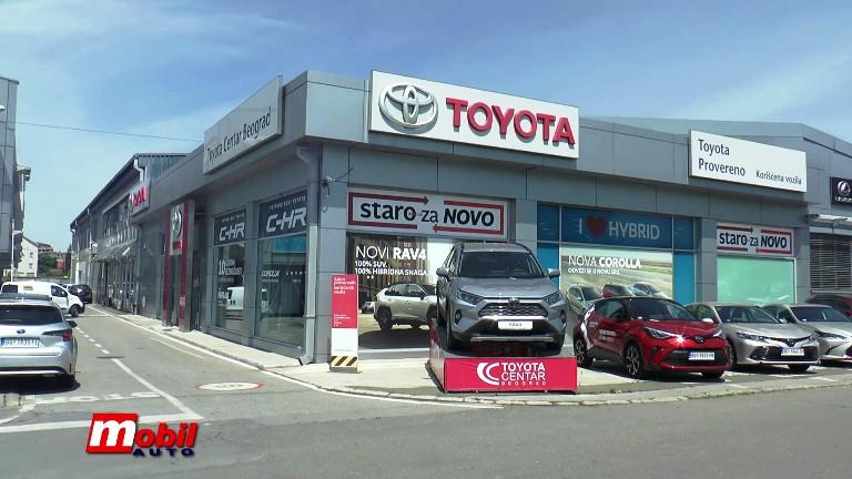 MOBIL AUTO TV – Posetili smo Toyota Centar Beograd