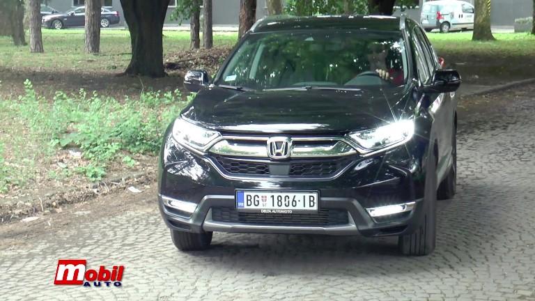 MOBIL AUTO TV – Vozili smo…HONDA CR-V 1.5 CVT LIFESTYLE 193 KS. Akcija na CR-V modele do kraja juna!