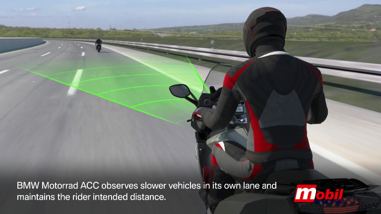 MOBIL AUTO TV – Novi BMW Motorrad Acitve Cruise Control ACC