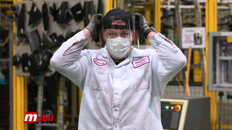 MOBIL AUTO TV – Inženjeri Honde proizvode vizire za lekare