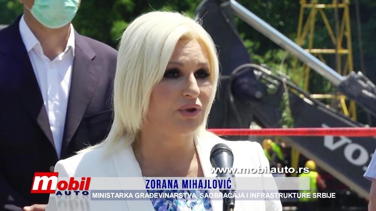 MOBIL AUTO TV – Putevi Srbije – Novi most preko Ljuboviđe do kraja godine