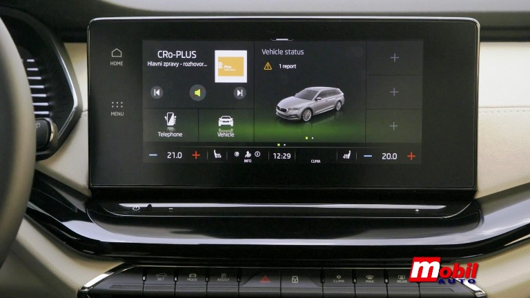 MOBIL AUTO TV – NOVI ŠKODA INFOTEJMENT SISTEM – DIGITALAN, MREŽEN I INTUITIVAN
