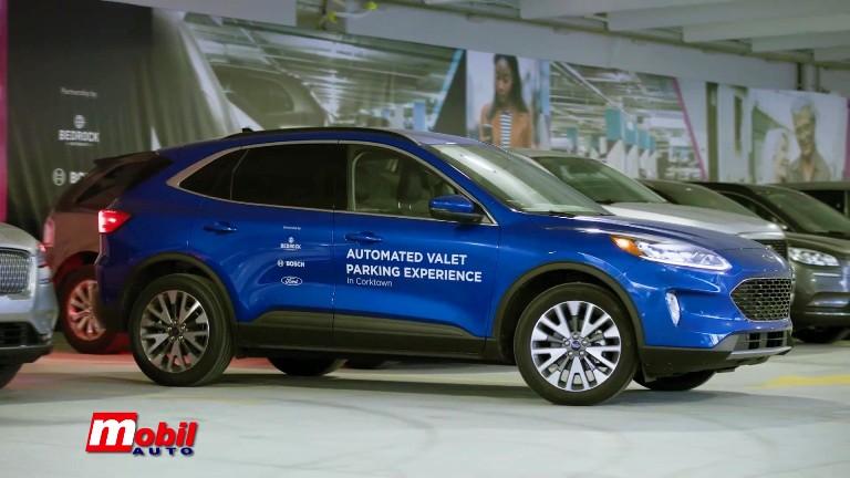 MOBIL AUTO TV – Ford, Bedrock i Bosch – Autonomni sistem za parkiranje