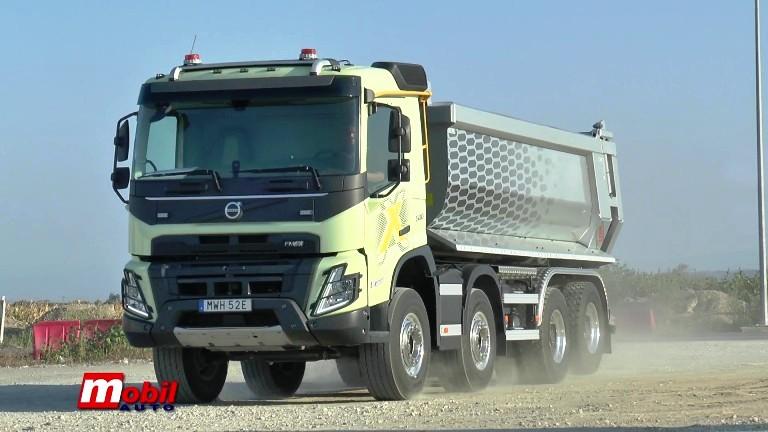 MOBIL AUTO TV – VOLVO KAMIONI SRBIJA – Nova generaciju teških kamiona u Doljevcu