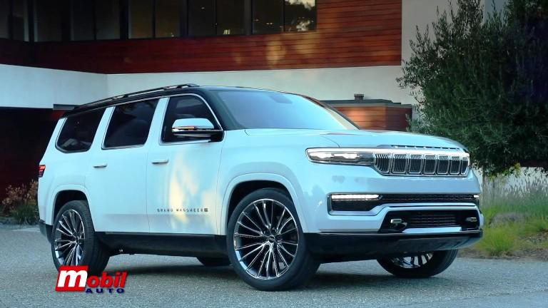 MOBIL AUTO TV – Jeep – Debitovanje koncepta Grand Wagoneer