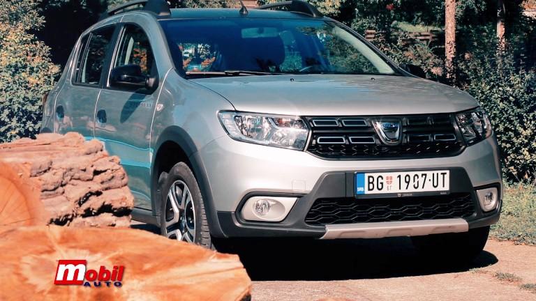 MOBIL AUTO TV – Vozili smo…DACIA SANDERO STEPWAY PROUD 1.5 BLUE DCI 95