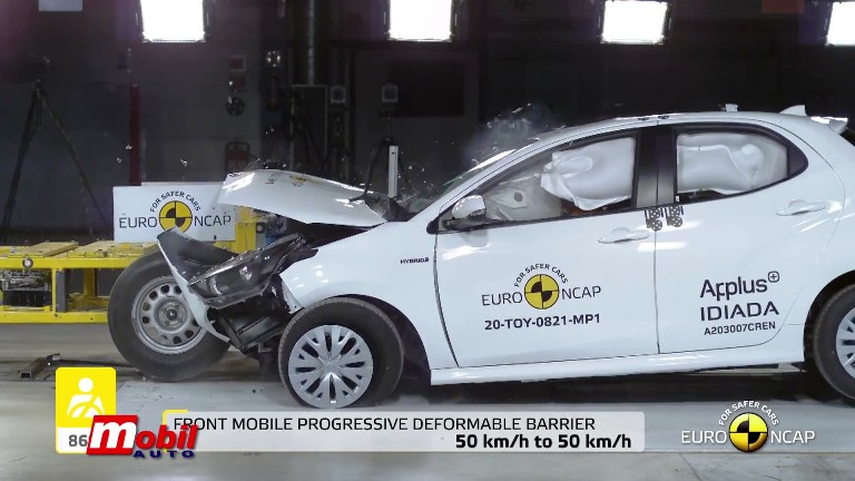 MOBIL AUTO TV – Nova Toyota Yaris prva na testu Euro NCAP-a