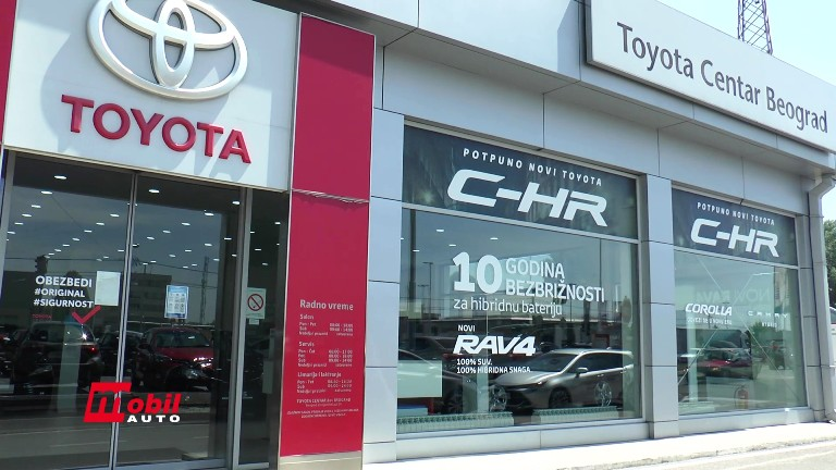 MOBIL AUTO TV – Milion Lexusa u Evropi i Toyota hibridi – Toyota Yaris